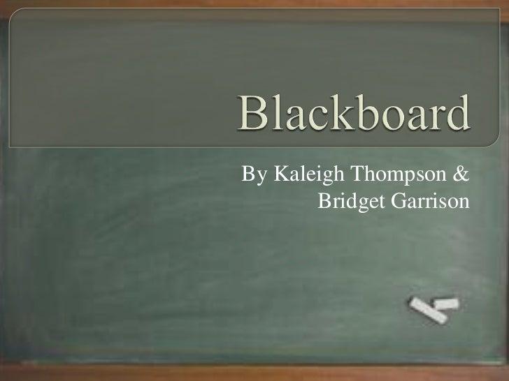 blackboard powerpoint template