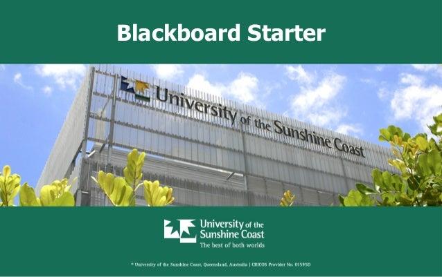 Blackboard Starter