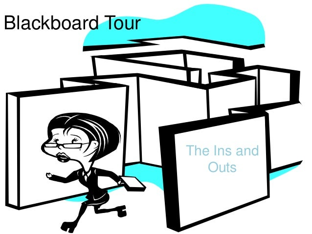 Blackboard TourThe Ins andOuts
