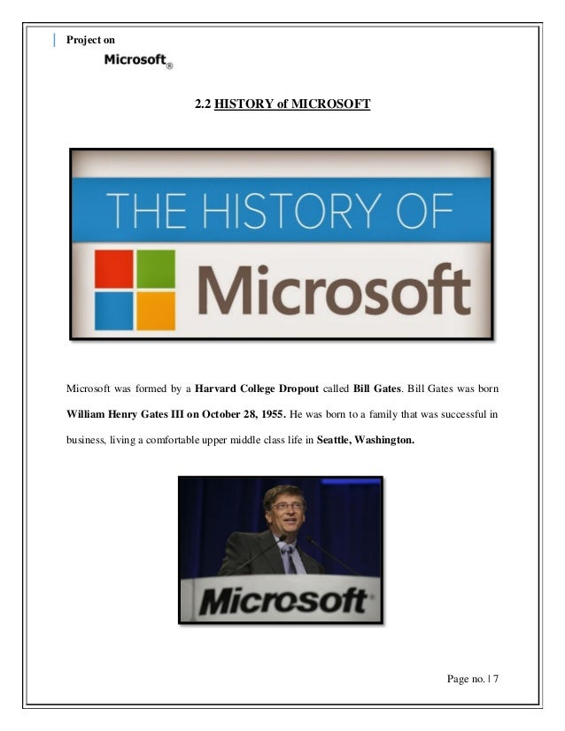 an overview of the business of bill gates the head of the microsoft corporation Business summary microsoft work overseeing the bill and melinda gates foundation provides ongoing global a co-founder of microsoft corporation.