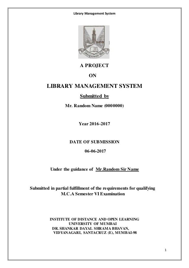 Library Management System Project in PHP with BlackBook
