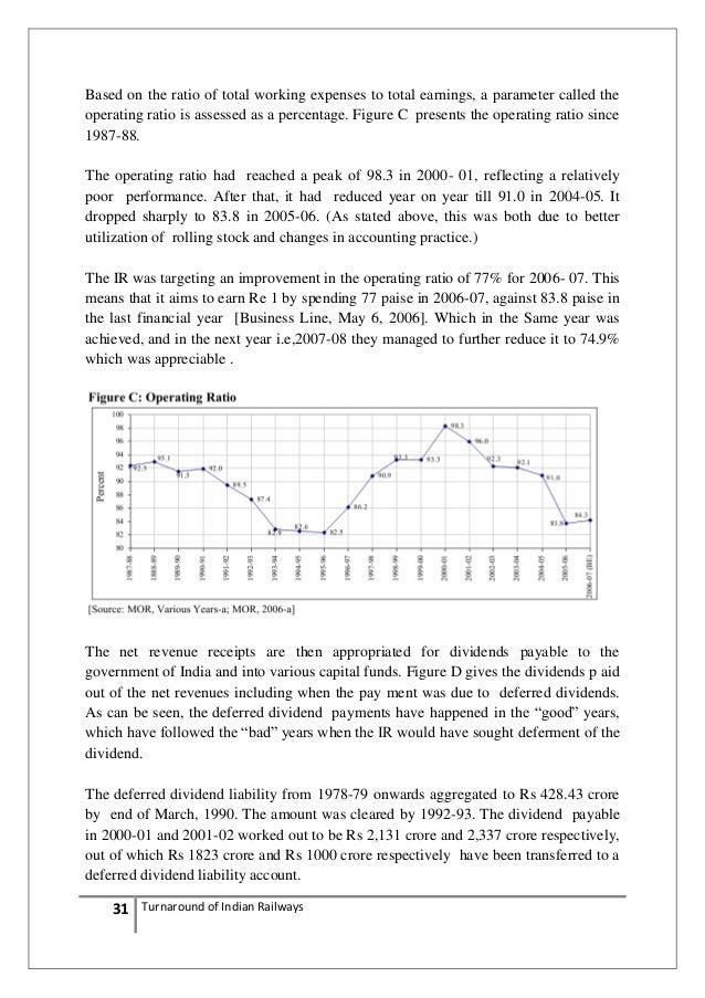 turnaround strategy of railway Essar oil vadinar refinery mega turnaround sept-oct 2011  +strategy followed  8 turnaround planning co-ordinator d d chaudhari / jayanti vagdoda.