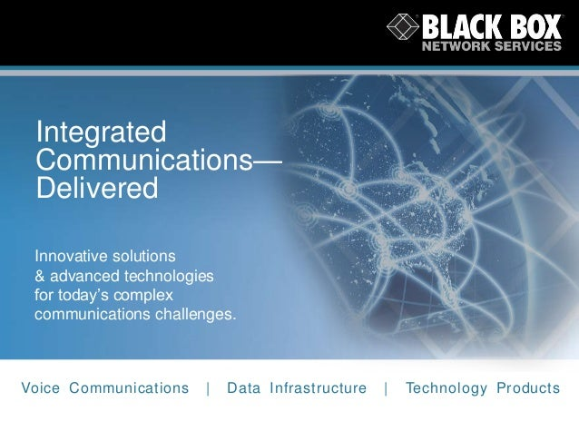 Integrated Communications— Delivered Innovative solutions & advanced technologies for today's complex communications chall...