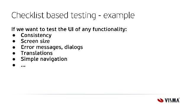 Black box test techniques overview