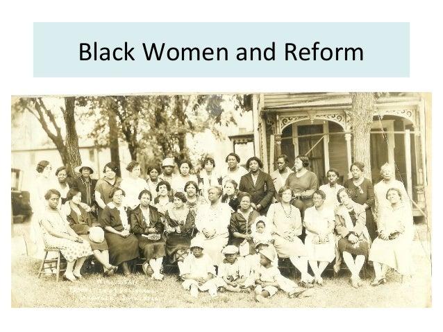 Black Women and Reform