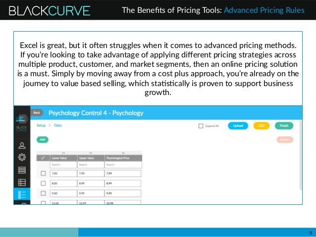 the benefits of price list management software