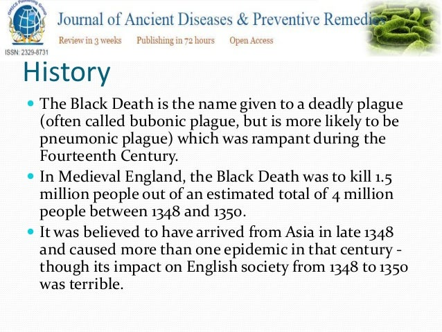 Ancient Plagues Share Similarities With H1n1, Other Modern Diseases