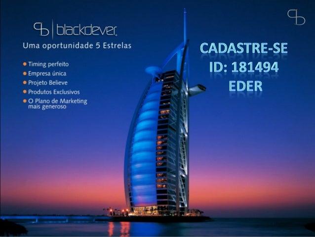 Blackdever apresentacao oficial_38_slides