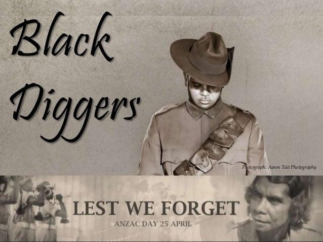Black Diggers Photograph: Aaron Tait Photography