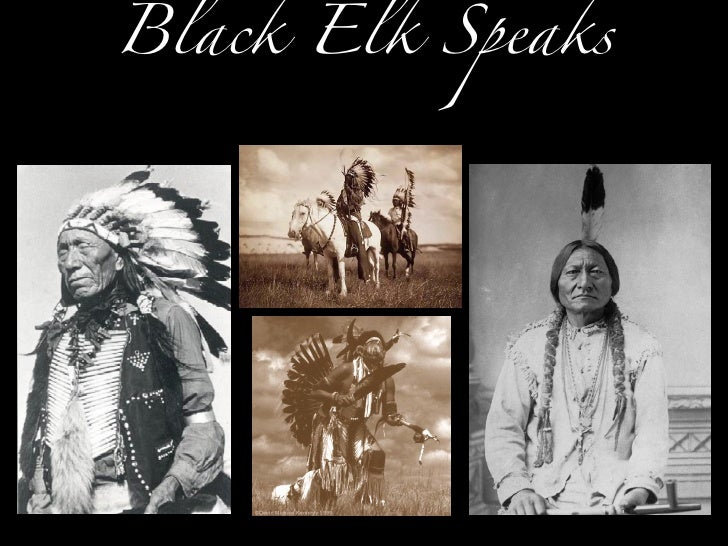 black elk speaks essay