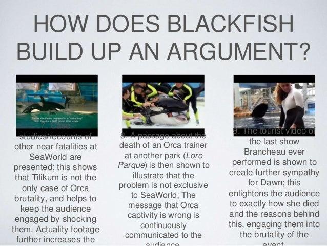 Analysis on blackfish