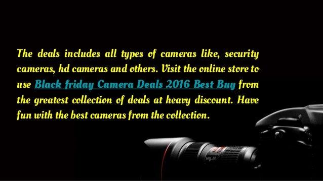 Best buy camera deals black friday 2018