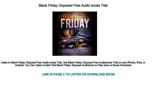 Black Friday Exposed Free Audio Books Trial