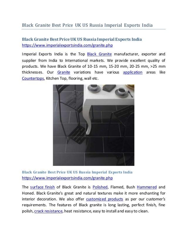 Black Granite Best Price UK US Russia Imperial Exports India Black Granite Best Price UK US RussiaImperial Exports India h...