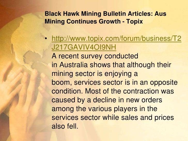 Black Hawk Mining Tumblr Blog