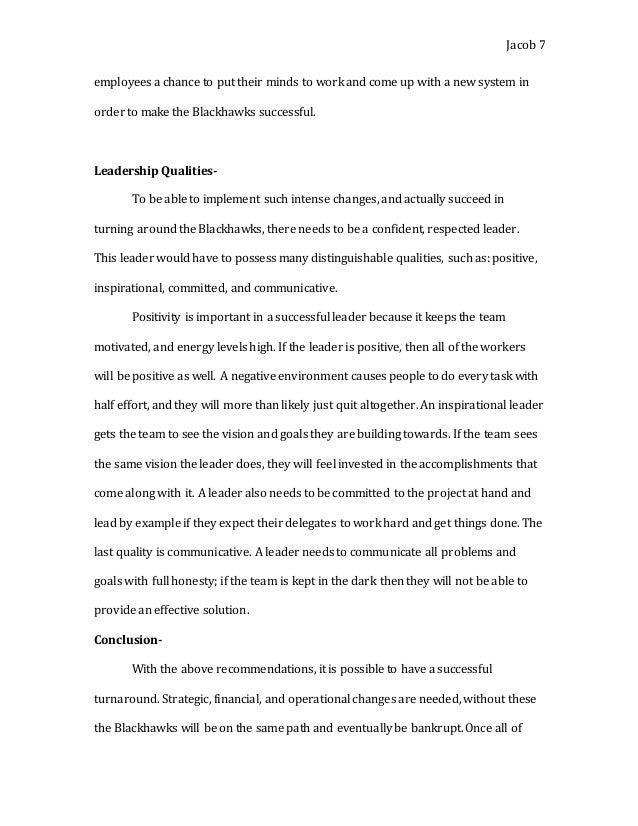 Blackhawks Marketing Case Study
