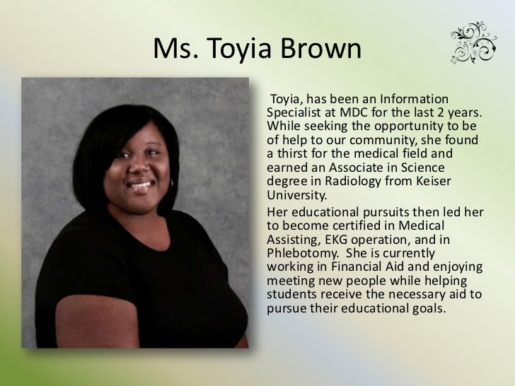 toyia l brown