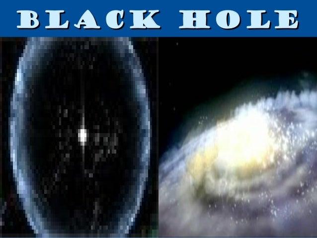 Black holes Slide 2