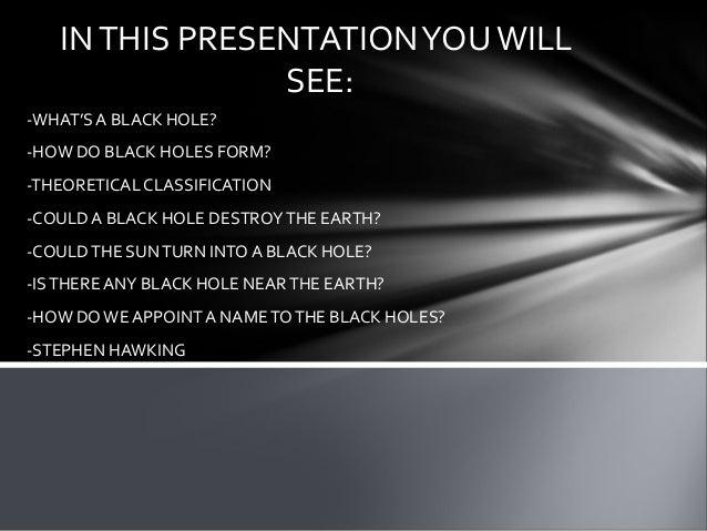 how does a black hole form - photo #19