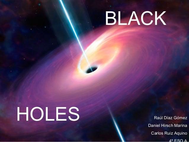 blackholes ppt