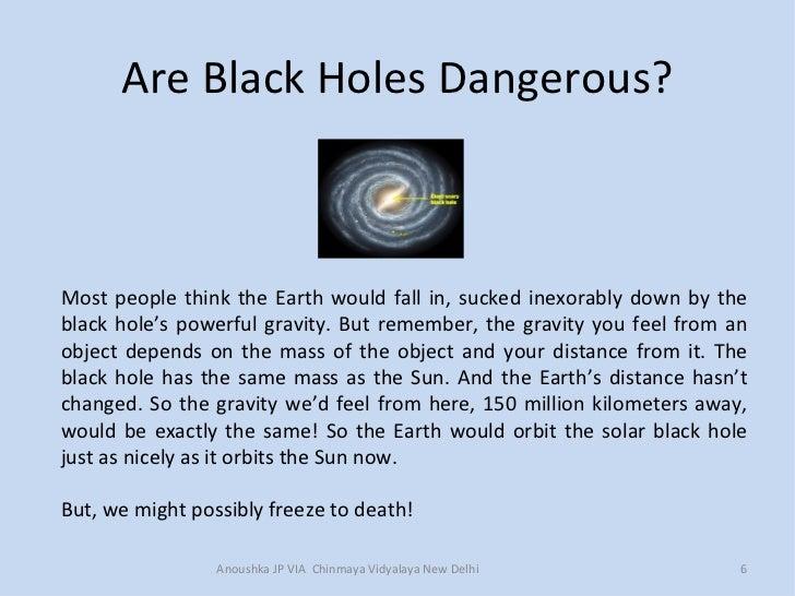 Black holes presentation by anoushka chinmaya 1