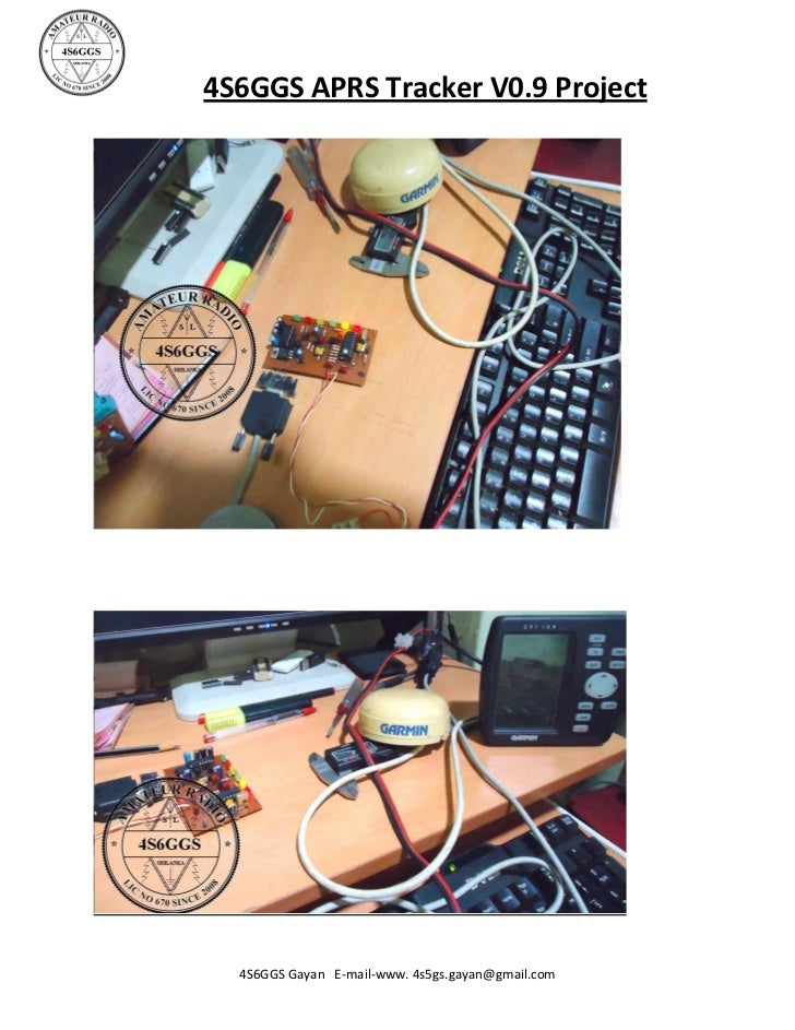 4S6GGS APRS TRACKER V0 9 PROJECT