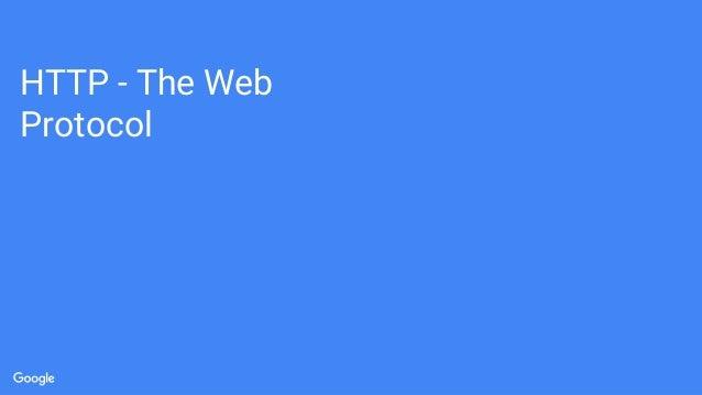 HTTP - The Web Protocol