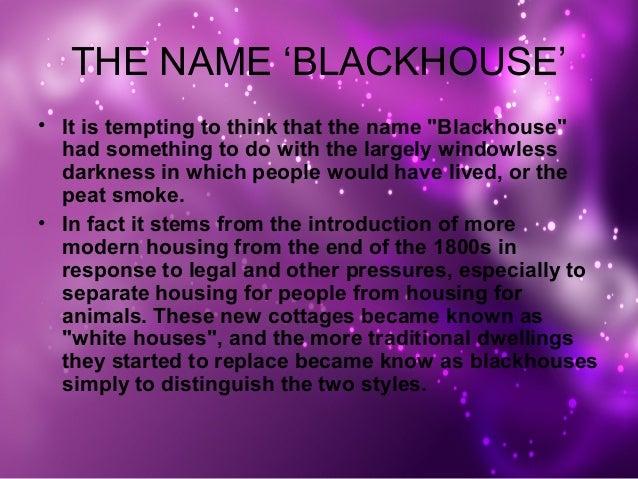Blackhouse Vernacular Architecture