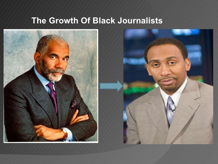 The Growth Of Black Journalists