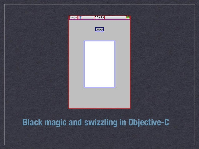 Black magic and swizzling in Objective-C