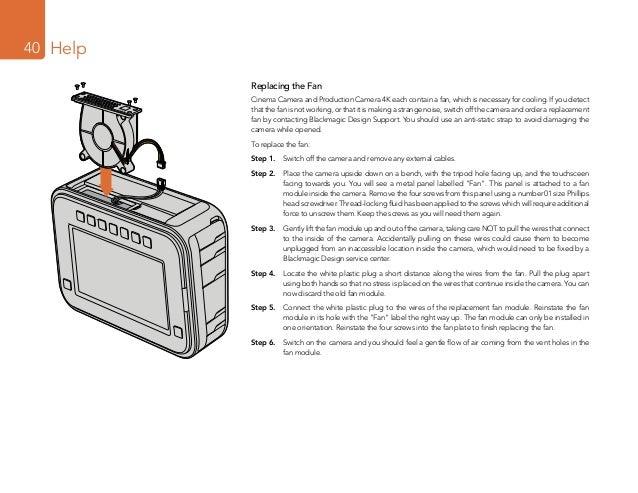 blackmagic production camera 4k manual
