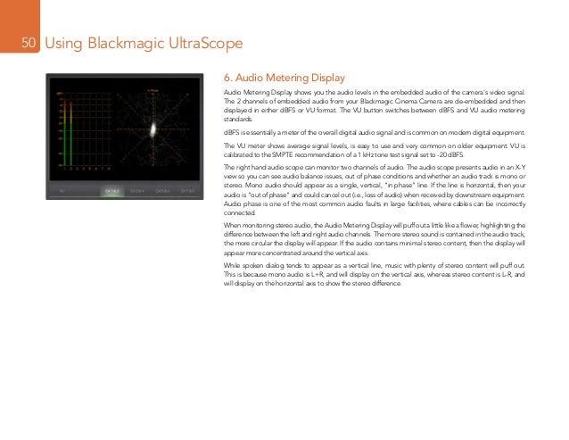 Black magic Camera Manual