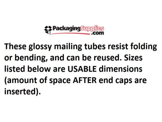 Black Mailing Tubes