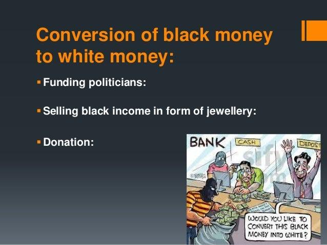 how to control black money