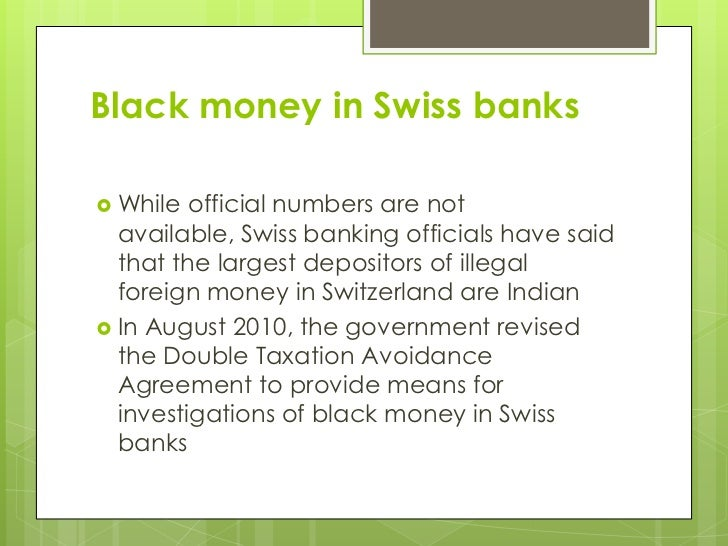 Black Money in India Essay Sample