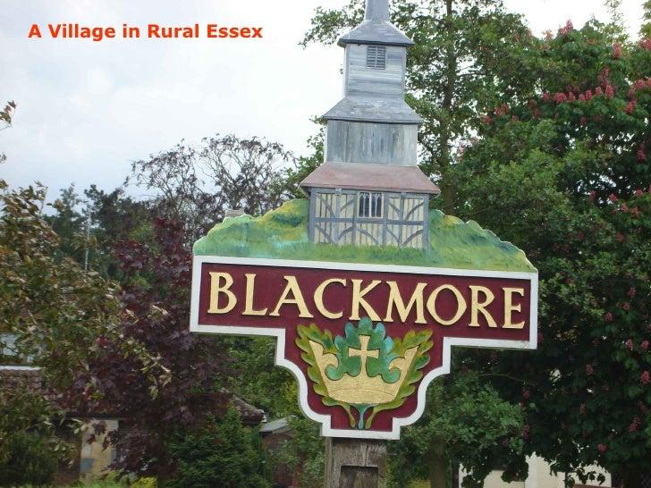 A Village in Rural Essex
