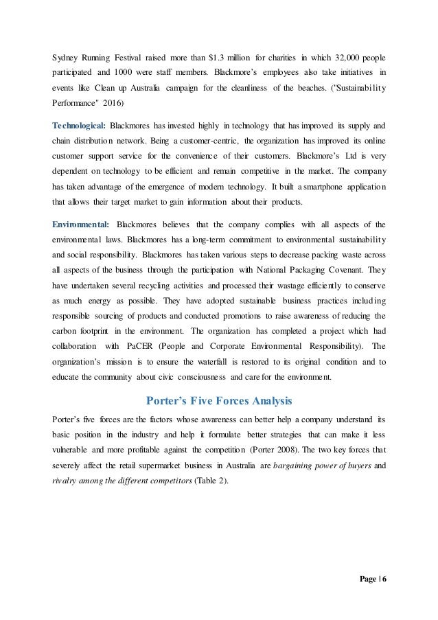 blackmores company analyses We suggest you to use blackmores limited fundamental analysis to see if markets are presently mispricing the company in plain english you can use it to find out if blackmores limited is indeed mispriced or if you can make any profits on it by purchasing it and then waiting for the market to recognize its mistake and reprise the security .