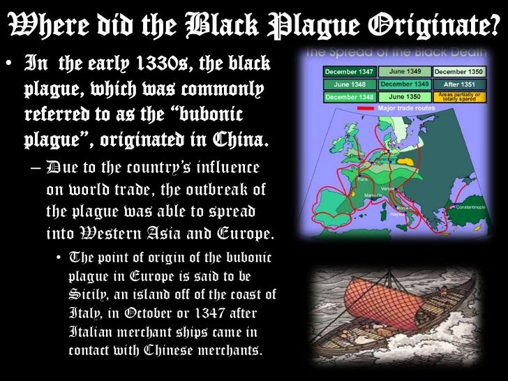 the features of the black plague and its effects Klick 1 in this paper, i will argue that the bubonic plague, which began to ravish the european populations in 1347, would have a lasting impact upon the medieval world particularly in manners of religion, science and medicine, art, and the increased use of common and local vernaculars.