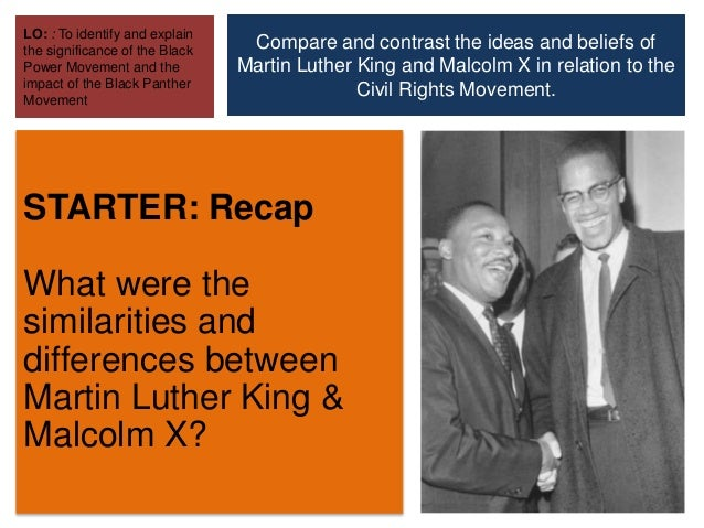 conversation between martin luther king and malcolm x Start studying martin luther king, jr and malcolm x learn vocabulary, terms, and more with flashcards, games, and other study tools.