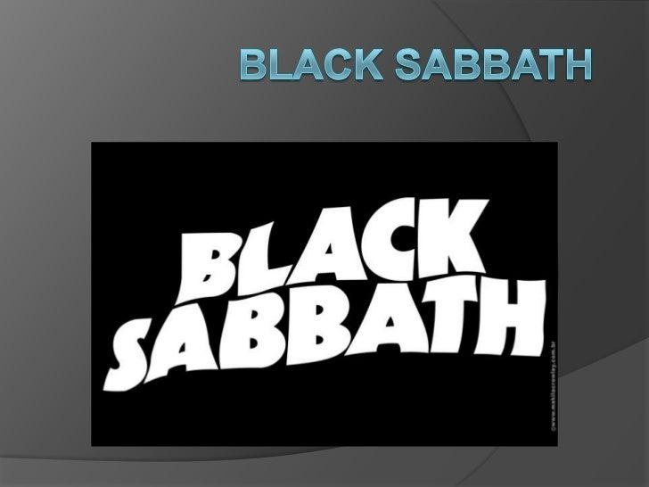 Black Sabbath <br />