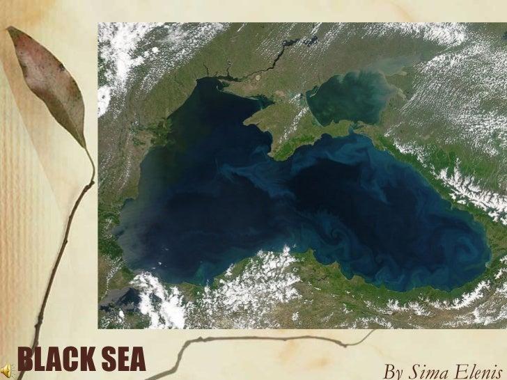 BLACK SEA   By Sima Elenis