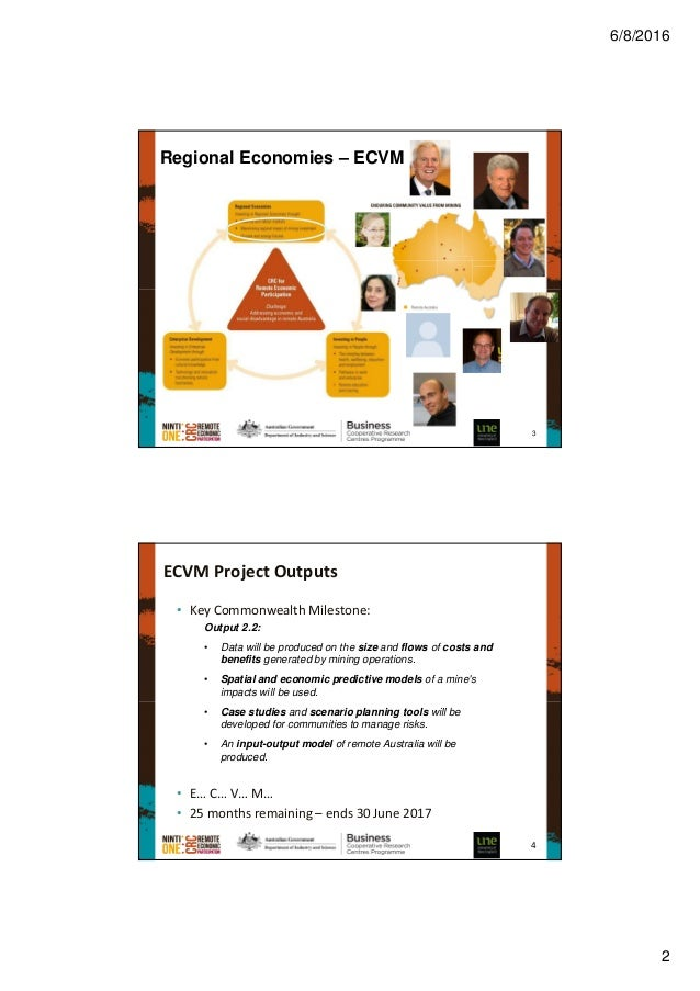 Enduring Community Value from Mining (ECVM): Tracking and mapping mine expenditure Slide 2