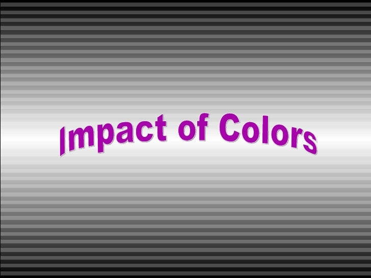 Impact of Colors