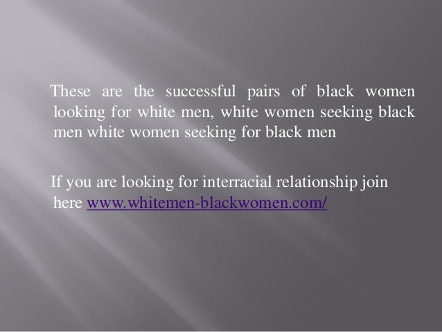 Polygamist women seeking black men