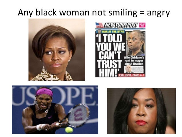 stereotypes black women vs white women Working while black:  on the job are mediocre minorities who live out minority stereotypes  commenters on this article are white women in the.