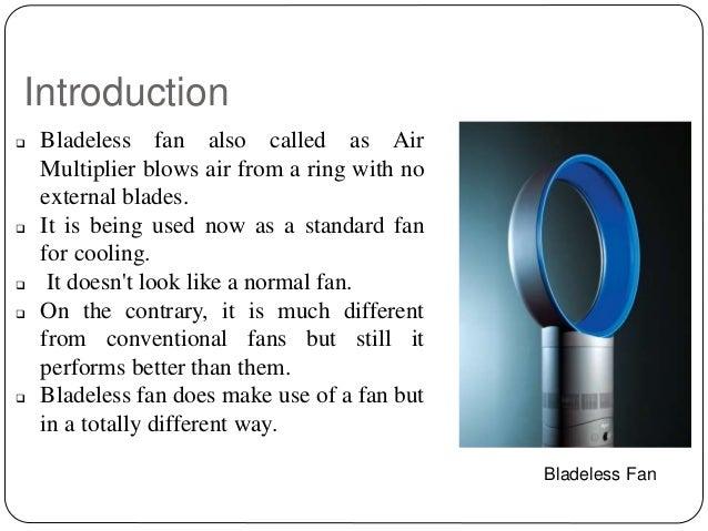 bladeless fan research paper