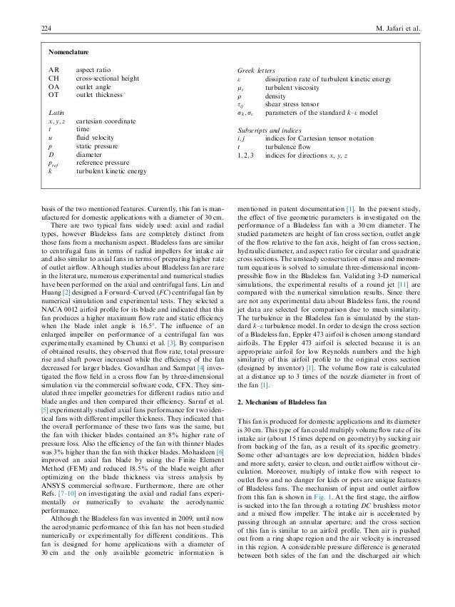 bladeless fan working principle pdf
