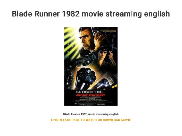 Blade Runner Stream Movie4k