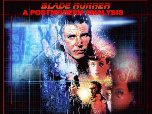 Blade runner postmodernism essay
