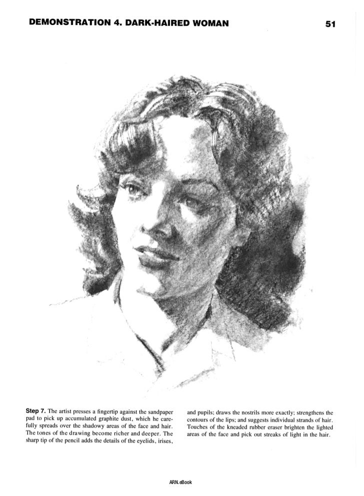 portrait drawing a step by step art instruction book pdf